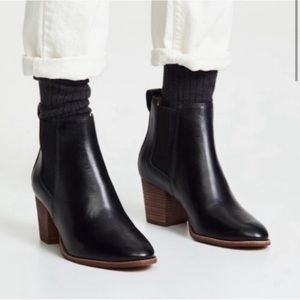 Madewell Regan boots black leather 10